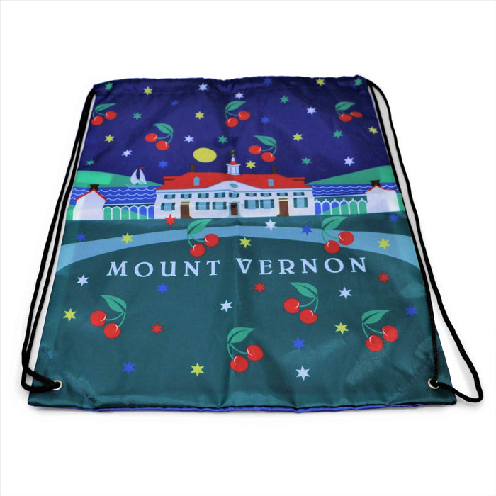 Mount Vernon Cherry Drawstring Backpack - CHARLES PRODUCTS INC. - The Shops at Mount Vernon