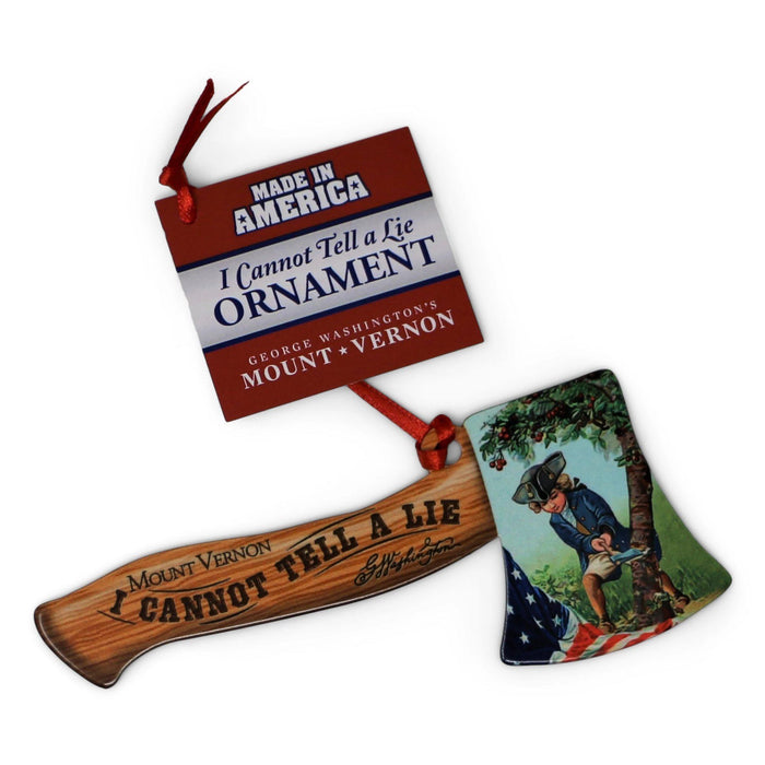 Hatchet Ornament - DESIGN MASTER ASSOCIATES - The Shops at Mount Vernon