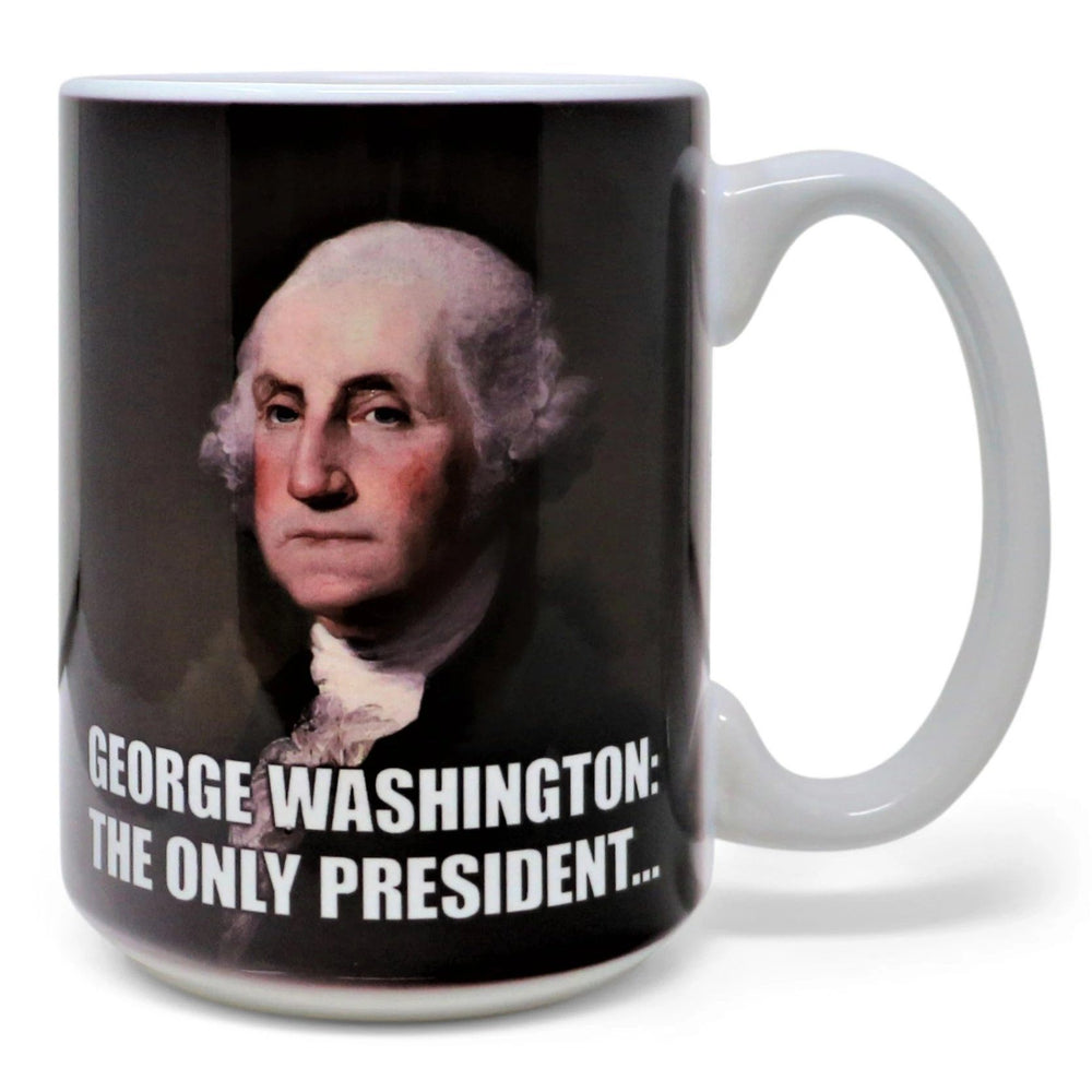 George Washington Only President Mug - DESIGN MASTER ASSOCIATES - The Shops at Mount Vernon