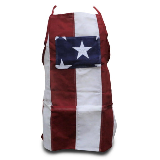 Adult Patriotic Apron - SPRINGBOK - The Shops at Mount Vernon