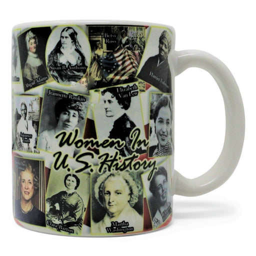 Women in U.S. History Mug - AMERICANA SOUVENIRS GIFTS - The Shops at Mount Vernon