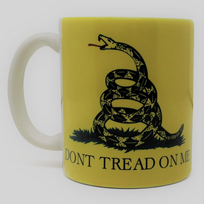 Don't Tread on Me Mug - LDA - The Shops at Mount Vernon