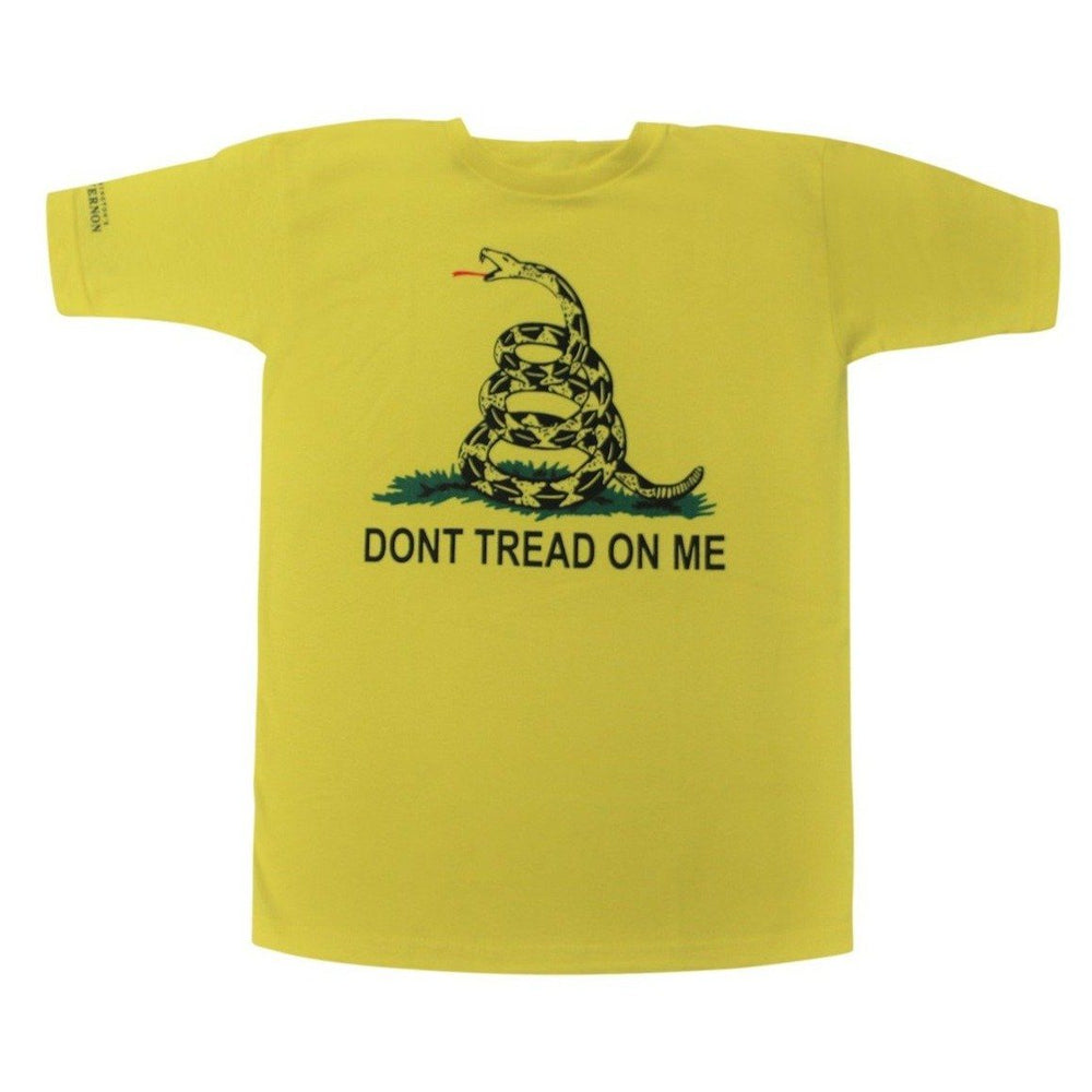 Don't Tread on Me T-Shirt - AMERICANA SOUVENIRS GIFTS - The Shops at Mount Vernon