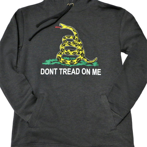 Don't Tread on Me Hoodie - AMERICANA SOUVENIRS GIFTS - The Shops at Mount Vernon