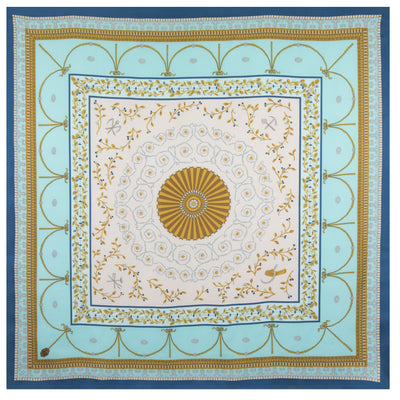 New Room Ceiling Scarf in Aqua