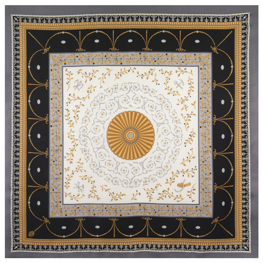 New Room Ceiling Scarf in Black - The Shops at Mount Vernon - The Shops at Mount Vernon