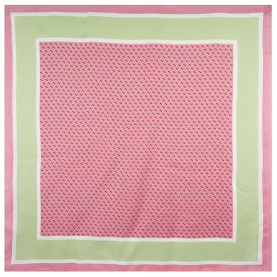 Vineyard Vines Cherries Silk Scarf in Pink