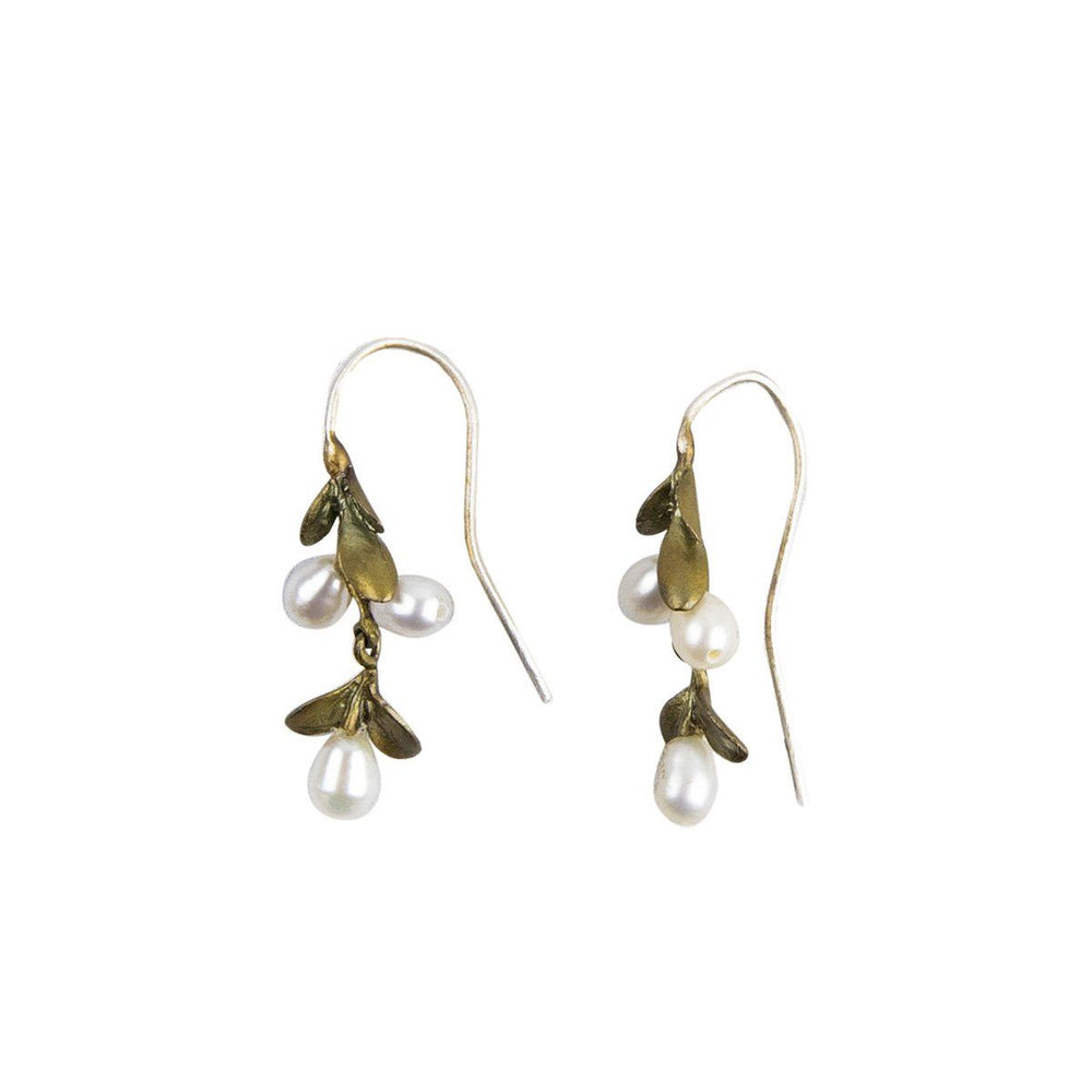 Mount Vernon Boxwood Drop Earrings - The Shops at Mount Vernon - The Shops at Mount Vernon