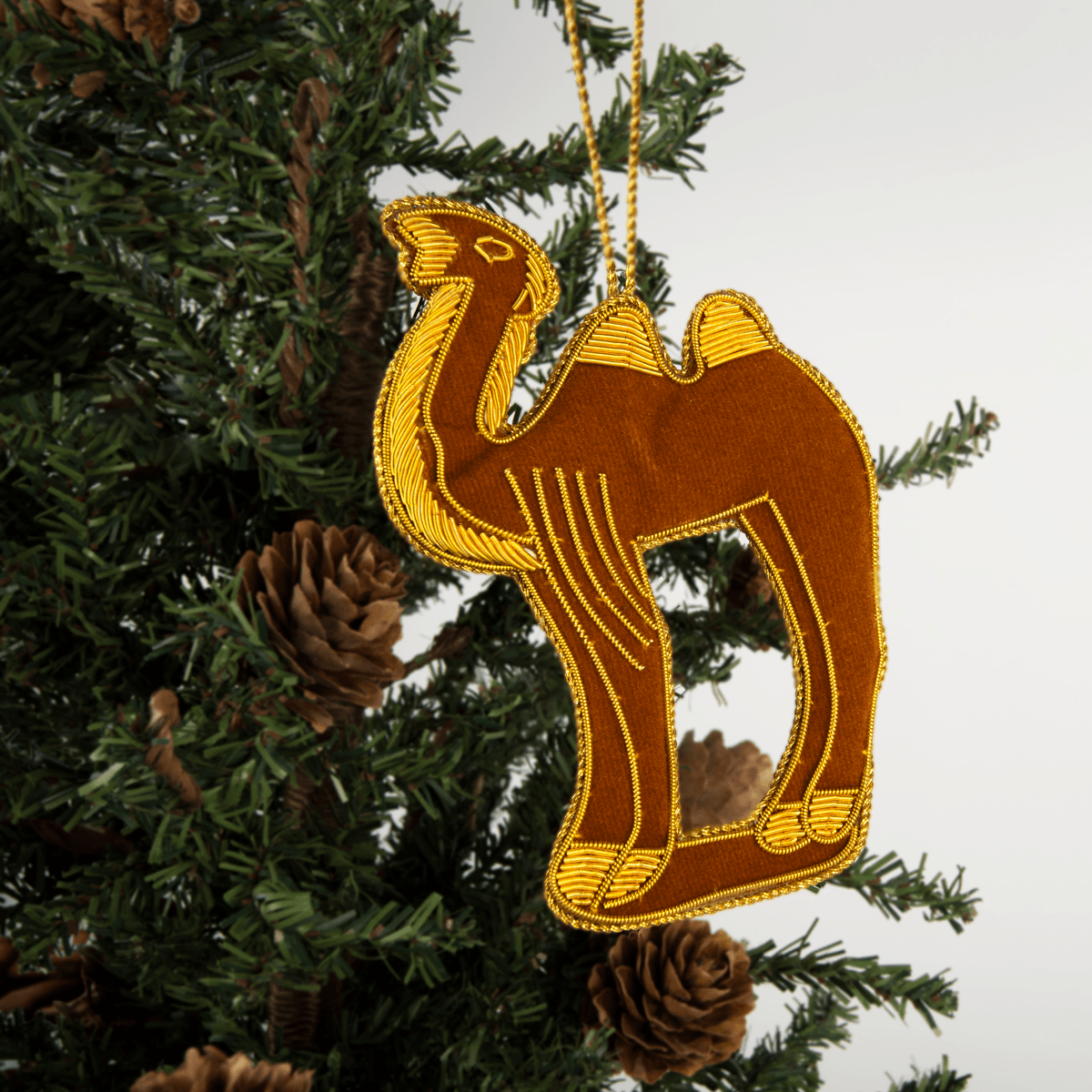 Mount Vernon Christmas Camel Ornament