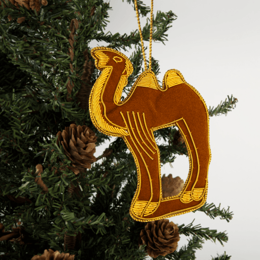 Mount Vernon Christmas Camel Ornament - ST NICOLAS LTD. - The Shops at Mount Vernon