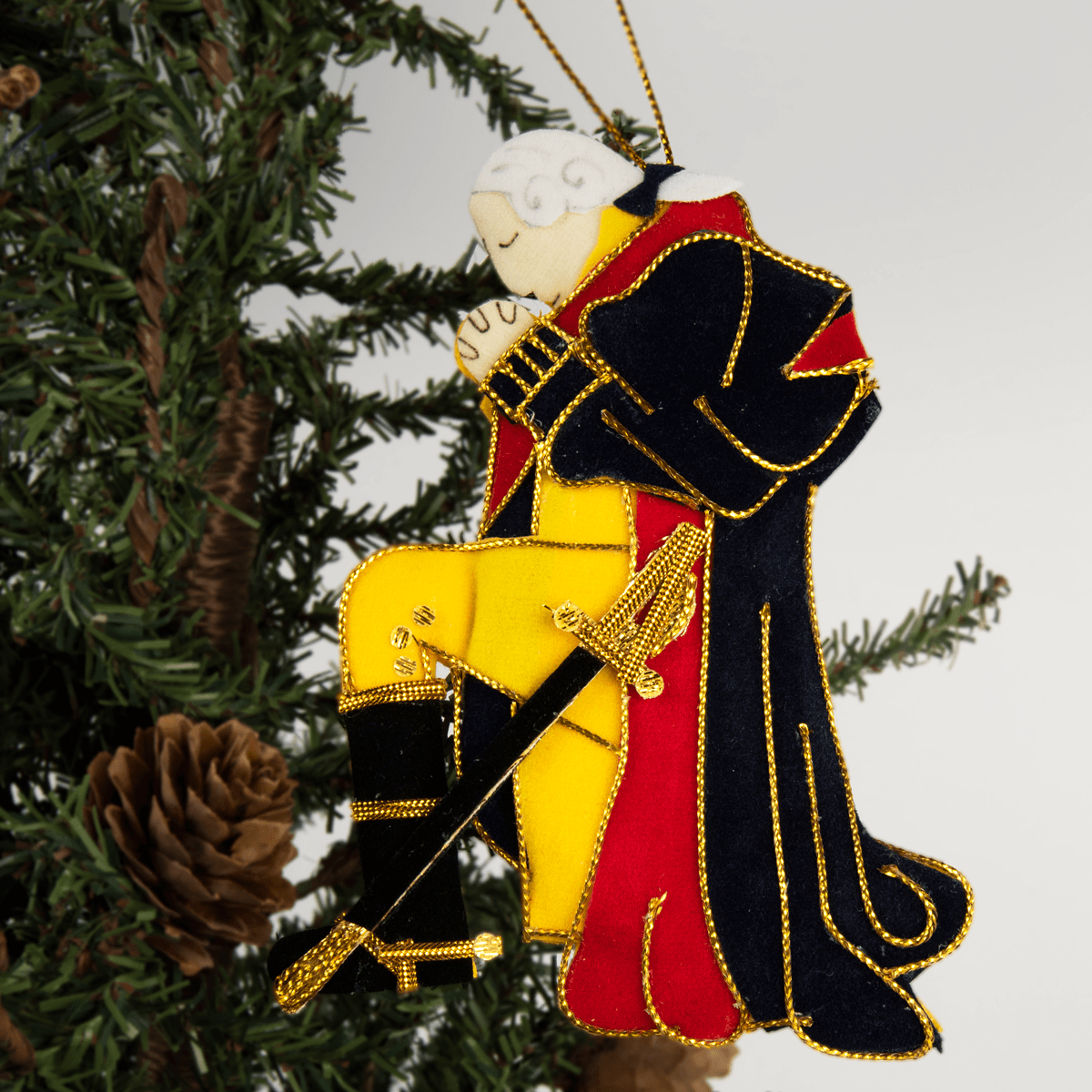 George Washington at Prayer Ornament