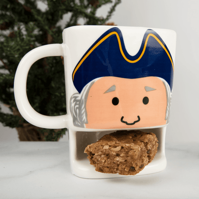 Hungry George Stoneware Cookie Mug