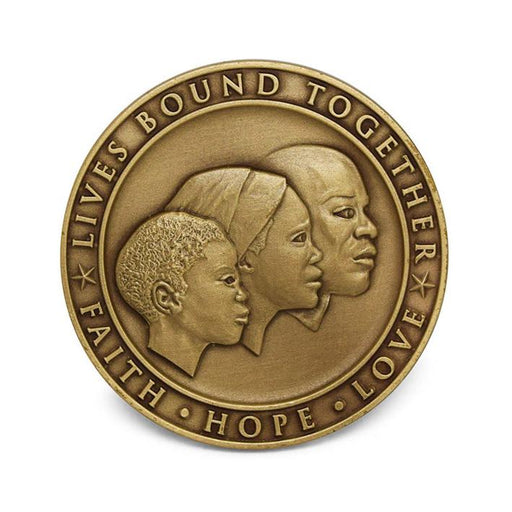 Lives Bound Together Coin Booklet - The Shops at Mount Vernon - The Shops at Mount Vernon