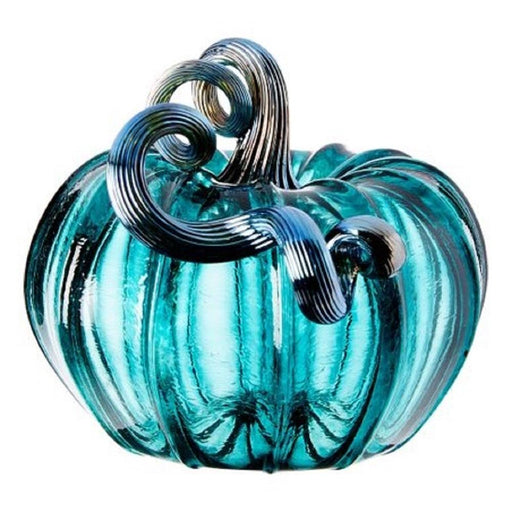 Lagoon Pumpkin - LUKE ADAMS HANDBLOWN GLASS - The Shops at Mount Vernon