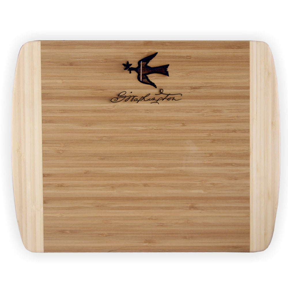 Mount Vernon Bamboo Cutting Board - LDA - The Shops at Mount Vernon