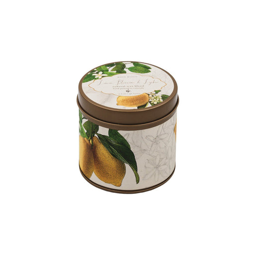 Lemon Blossom and Lychee Signature Candle Tin - Rosy Rings - The Shops at Mount Vernon