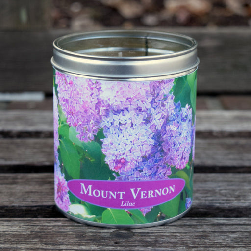 Mount Vernon Lilac Scented Candle - The Shops at Mount Vernon - The Shops at Mount Vernon