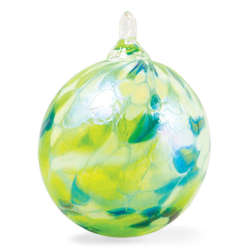 Lime Round Ornament - GLASS EYE STUDIO - The Shops at Mount Vernon