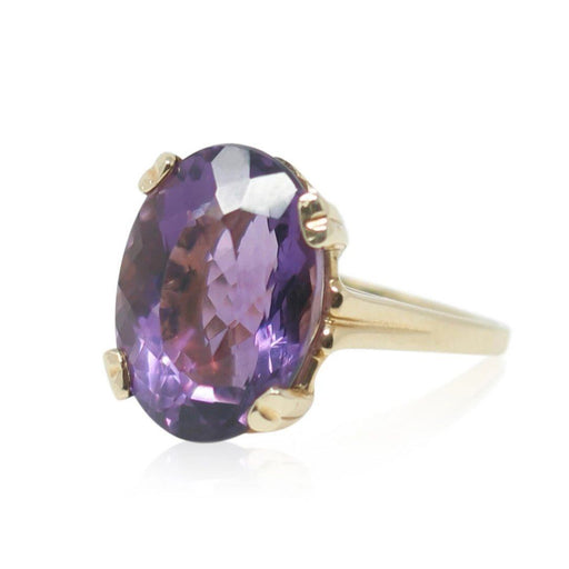 Amethyst Ring - THE ANTIQUE GUILD - The Shops at Mount Vernon