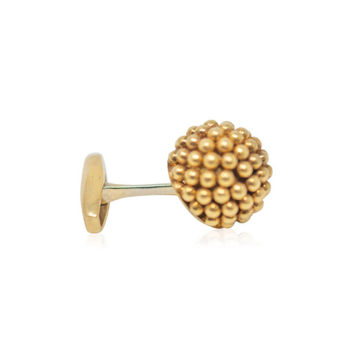 Italian Gold Ball Cufflinks - THE ANTIQUE GUILD - The Shops at Mount Vernon