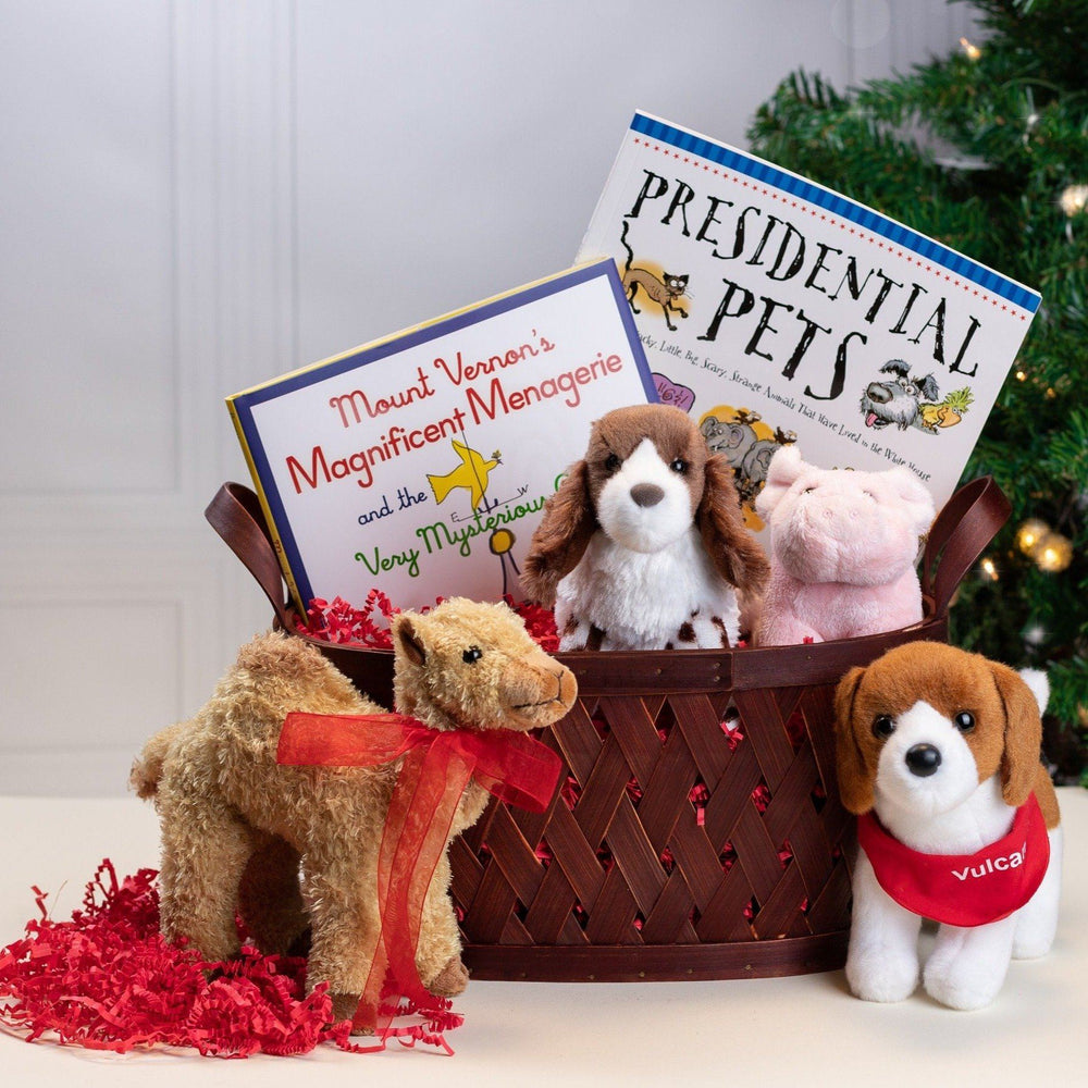 Presidential Pets Gift Basket #5 - MT. VERNON LADIES ASSOC - The Shops at Mount Vernon