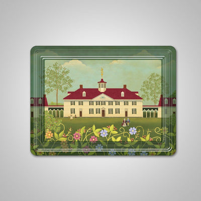 Mount Vernon Folk Art Magnet