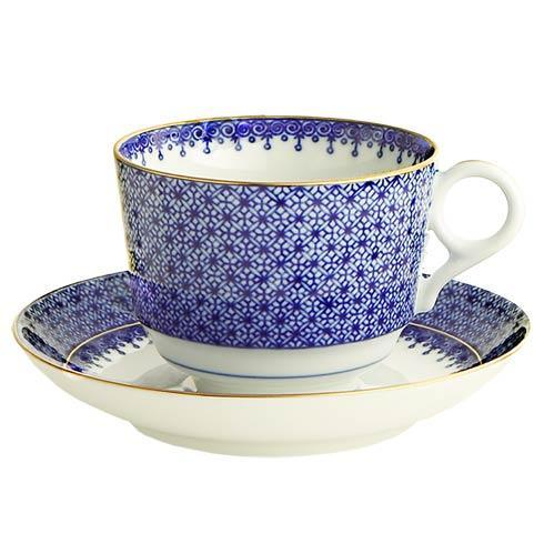 Blue Lace Tea Cup & Saucer - MOTTAHEDEH & COMPANY, INC - The Shops at Mount Vernon