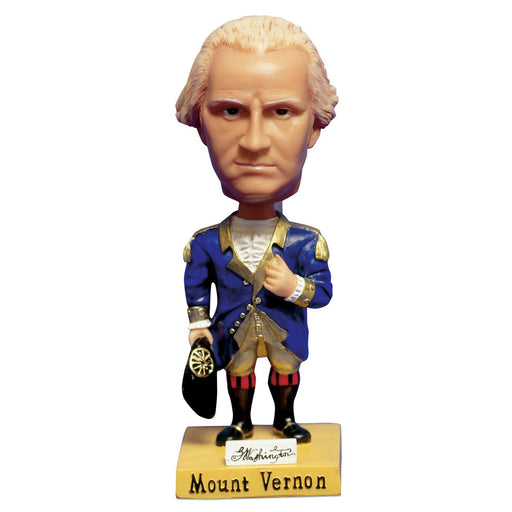 Mount Vernon's George Washington Bobble Head - The Shops at Mount Vernon - The Shops at Mount Vernon