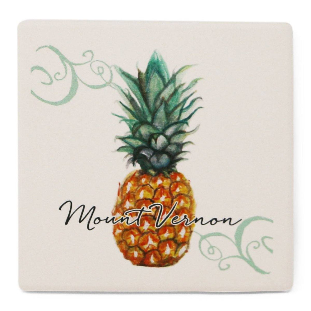 Mount Vernon Pineapple Coaster - BARLOW DESIGNS, INC. - The Shops at Mount Vernon