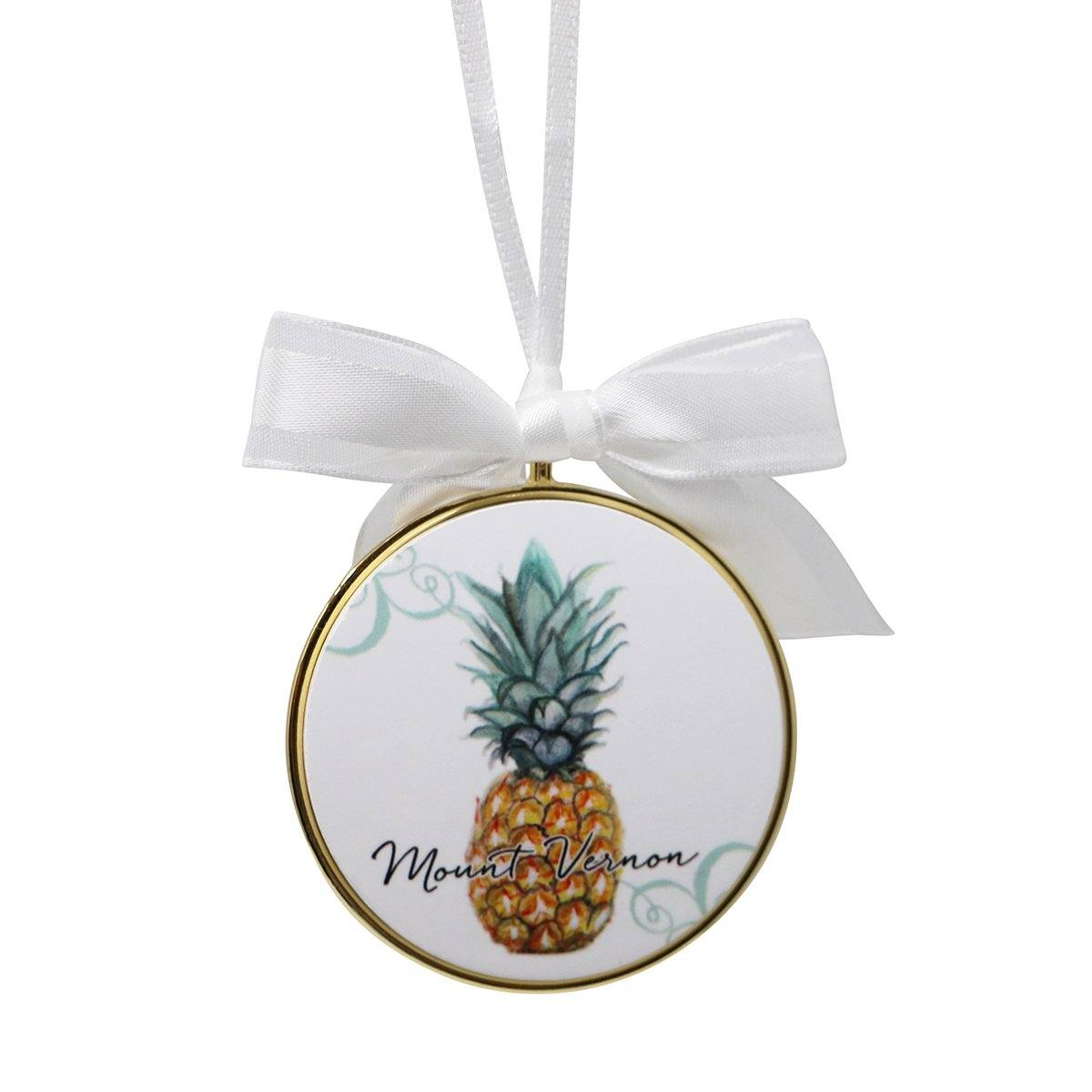 Mount Vernon Pineapple Ornament