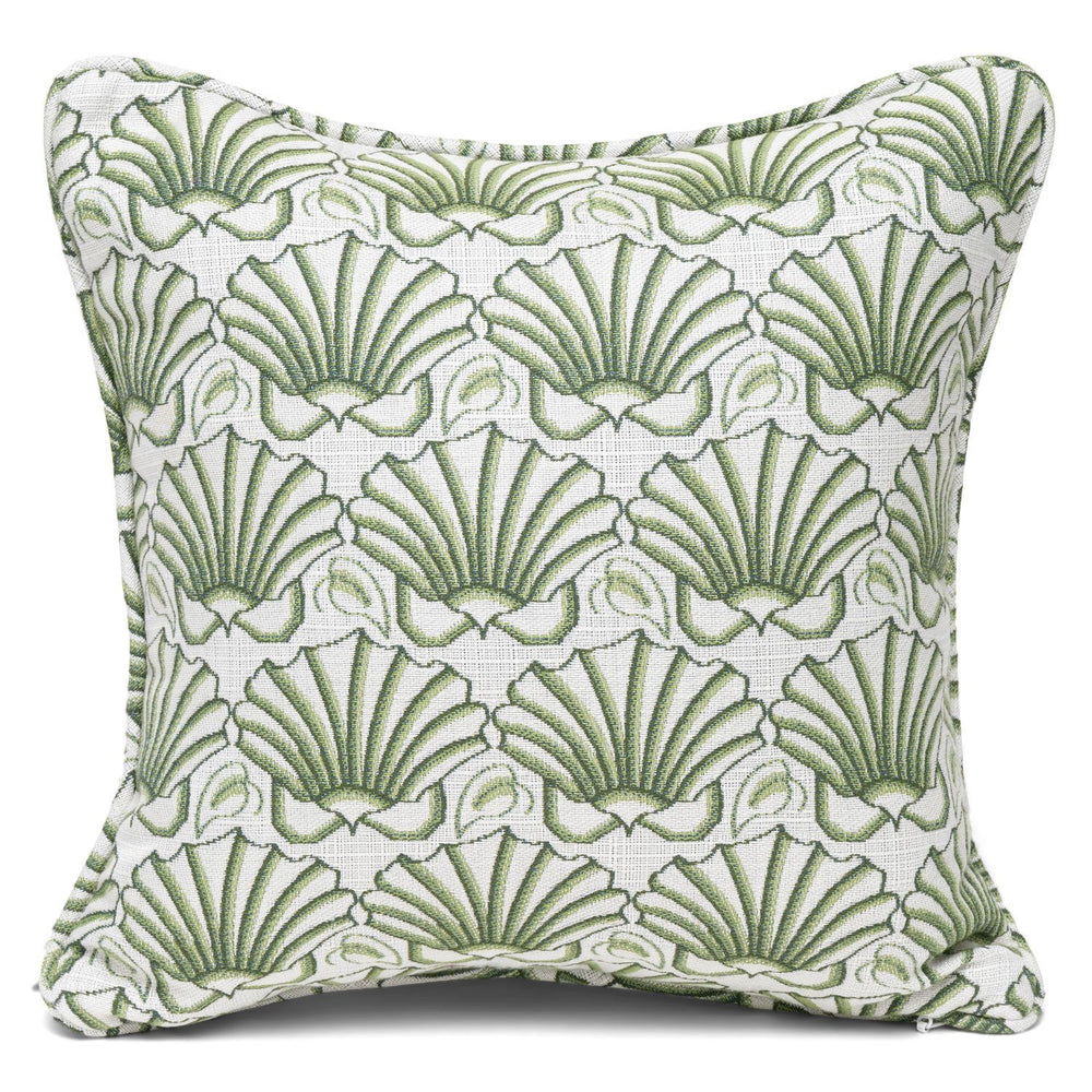 Martha's Shell Moss Self-Welt Pillows - Three Coins Cast - The Shops at Mount Vernon