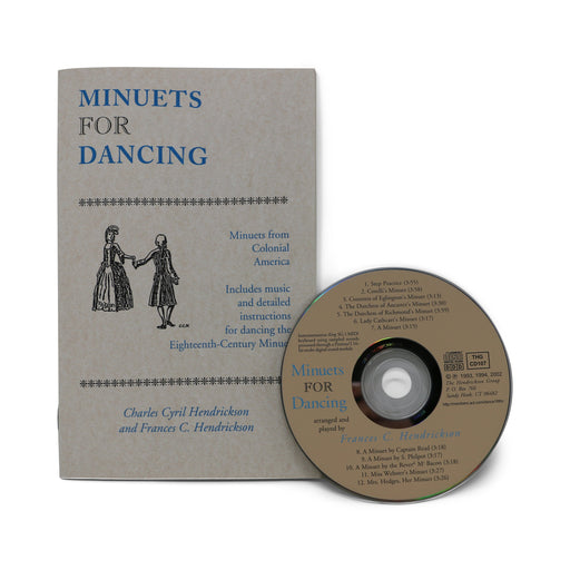 Minuets for Dancing - Book and CD Set - DAVID & GINGER HILDEBRAND - The Shops at Mount Vernon