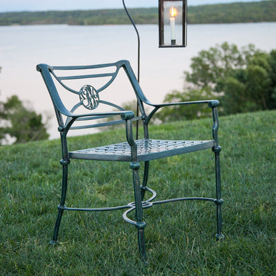 George Washington's Cypher Garden Chair