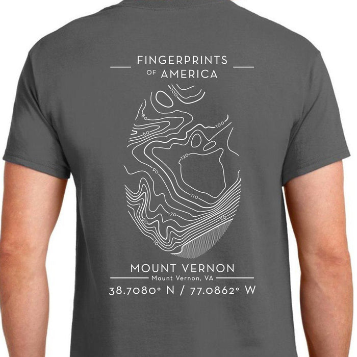 Mount Vernon Fingerprints of America T-Shirt - The Shops at Mount Vernon - The Shops at Mount Vernon