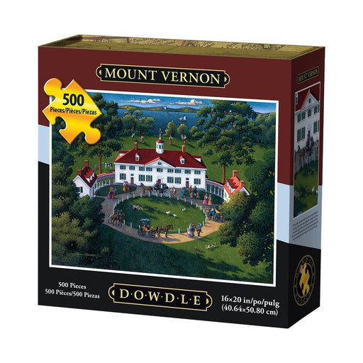 Mount Vernon Mansion 500 Piece Puzzle - The Shops at Mount Vernon - The Shops at Mount Vernon