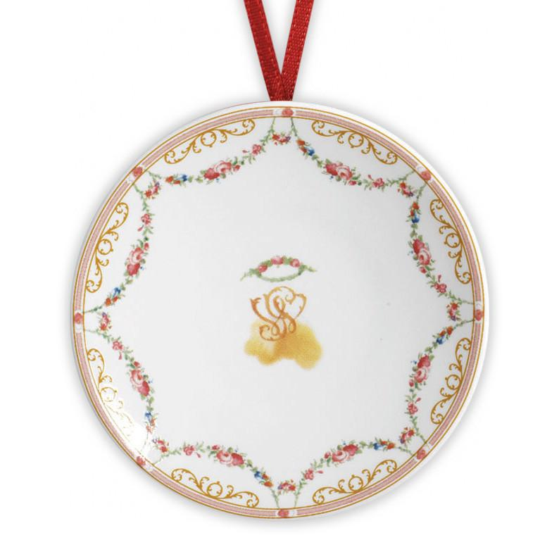 Crown of Roses Plate Ornament - DESIGN MASTER ASSOCIATES - The Shops at Mount Vernon