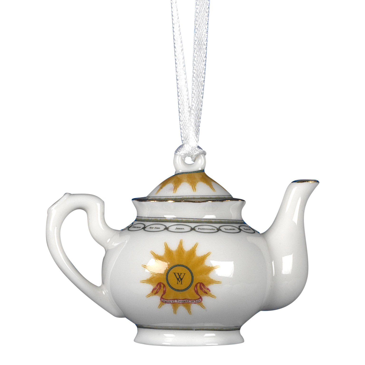 Washington States China Teapot Ornament