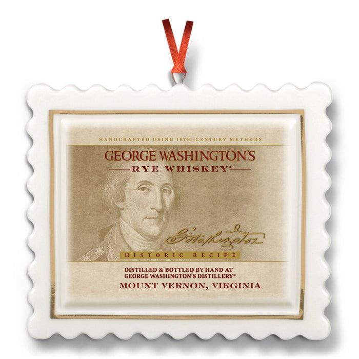 Whiskey Label Ornament - DESIGN MASTER ASSOCIATES - The Shops at Mount Vernon