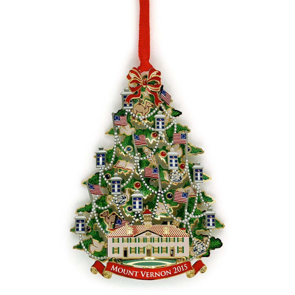 Mount Vernon 2015 Annual Ornament