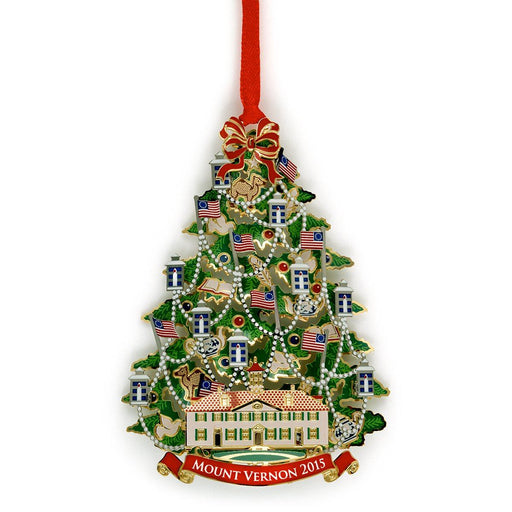 Mount Vernon 2015 Annual Ornament - DESIGN MASTER ASSOCIATES - The Shops at Mount Vernon
