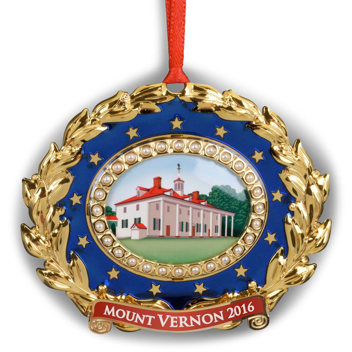 Mount Vernon 2016 Annual Ornament - DESIGN MASTER ASSOCIATES - The Shops at Mount Vernon