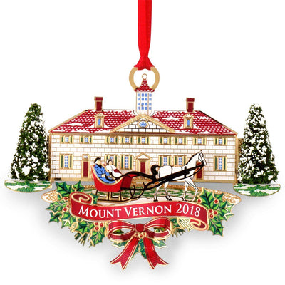 Mount Vernon 2018 Annual Ornament