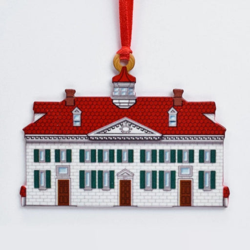 Mount Vernon in Miniature Ornament - DESIGN MASTER ASSOCIATES - The Shops at Mount Vernon
