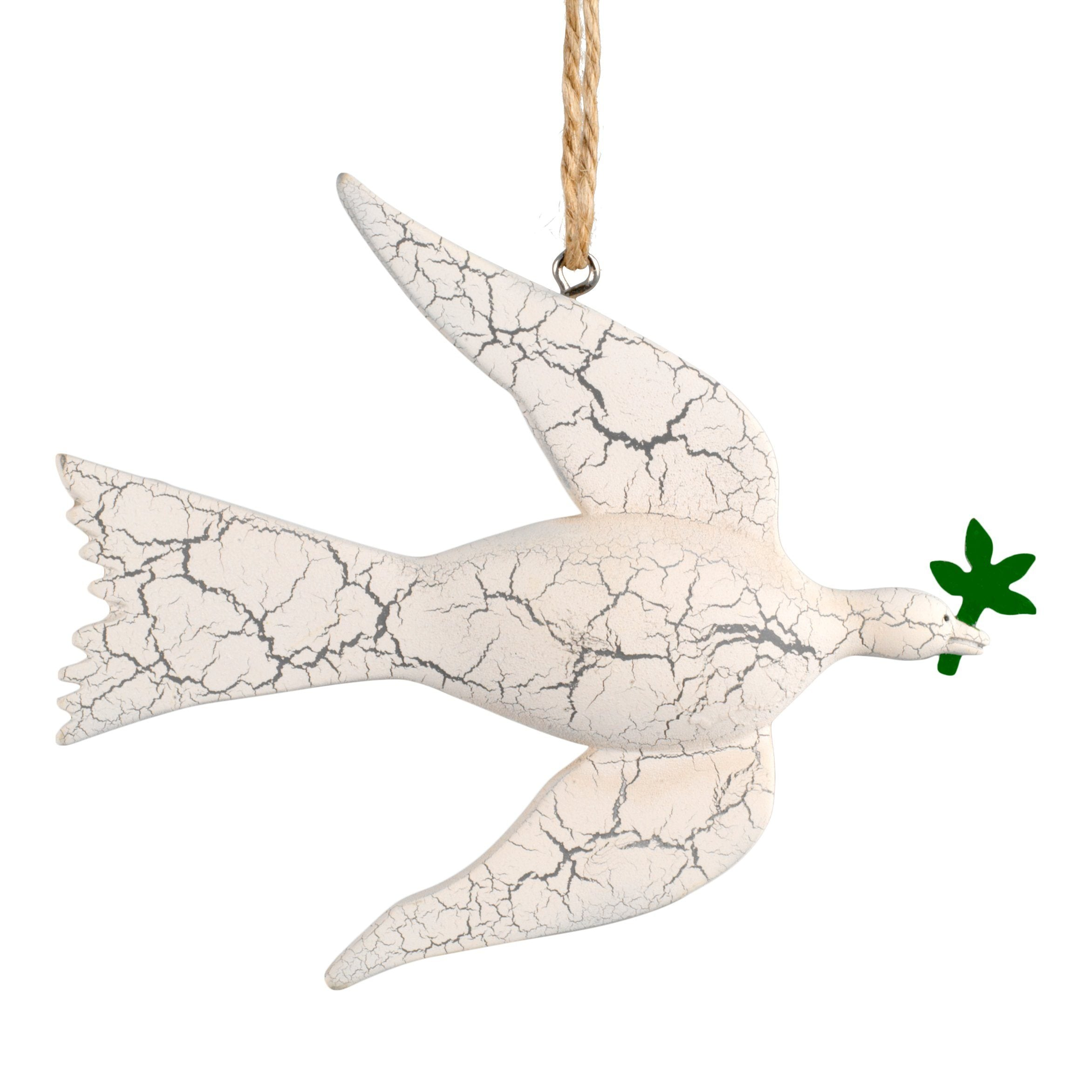 White Dove of Peace Ornament