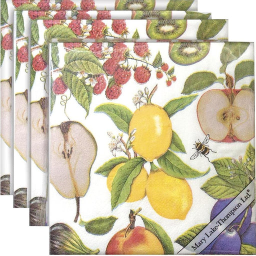 Fruit Paper Napkins - MARY LAKE-THOMPSON LTD - The Shops at Mount Vernon