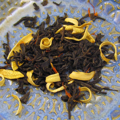 Passionfruit Peach Black Tea - OLIVER PLUFF & CO. - The Shops at Mount Vernon