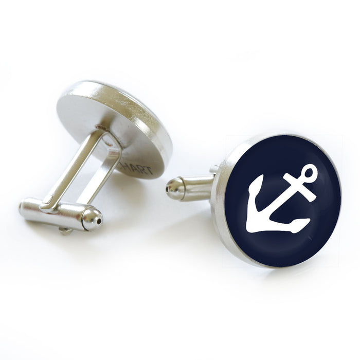 Anchor Cufflinks - Chart Metalworks - The Shops at Mount Vernon