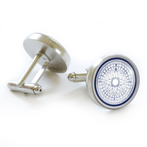 Compass Cufflinks - Chart Metalworks - The Shops at Mount Vernon