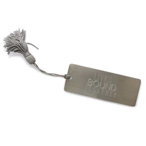 Lives Bound Together Pewter Bookmark - The Shops at Mount Vernon - The Shops at Mount Vernon