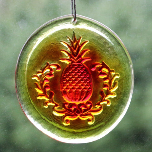 Colonial Pineapple Suncatcher - BLENKO GLASS COMPANY - The Shops at Mount Vernon